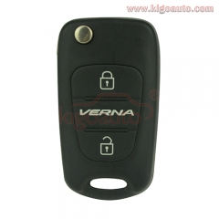 Flip remote key 434Mhz for Hyundai Verna 3 button