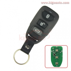 Remote fob 434Mhz for Hyundai Tucson NF 3 button PLNHM-T011
