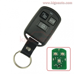 Remote fob 3 button for Hyundai Accent Sonata XG350 XG300 2002 2003 2004