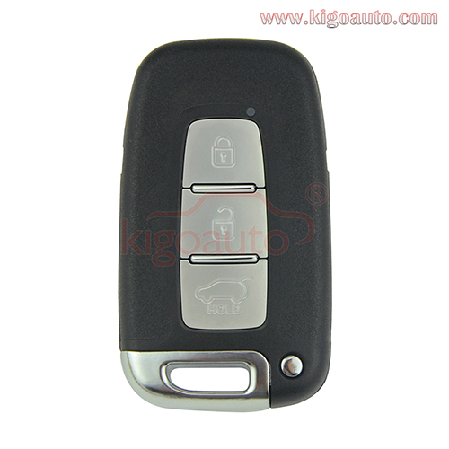 OEM Smart key 3 button 434Mhz for Hyundai IX35 Accent Elantra Veloster