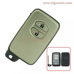 Smart key case 2 button for Toyota Prado Camry  Land cruizer 4Runner Avalon Venza 2007-2013