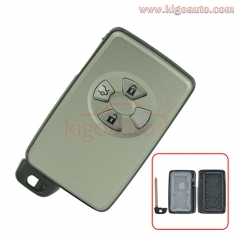 Smart key case 3 button for Toyota Camry