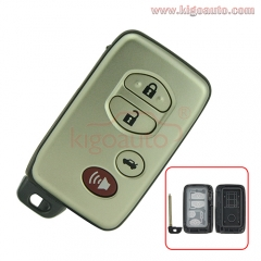 FCC HYQ14AAB Smart key case 4 button for Toyota Corolla Camry Avalon 2009 2010 2011 PN 89904-06041