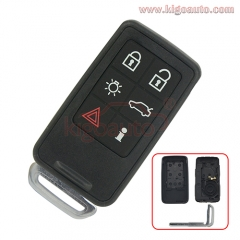 Smart key case shell cover 6 button for Volvo XC70 V70 XC60 S80 S60 2008 2009 2010 2011