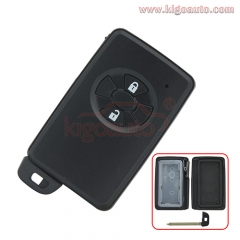 89904-52011 89904-52060 Smart key case 2 button for Toyota Vitz Ractis