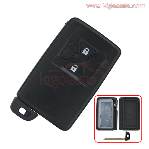 Smart key case 2 button for Toyota