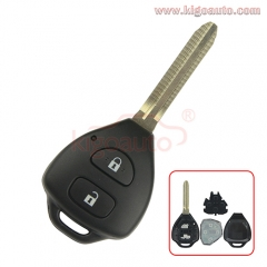 DENSO HYQ12BBY Remote key 2 button TOY43 434Mhz for Toyota Corolla Camry