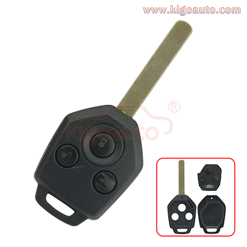 88049SC000 remote key 3 button 434Mhz  for Subaru OUTBACK TRIBECA LEGACY 2009 2010 2011