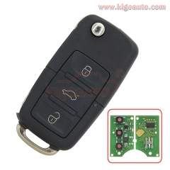 1JO 959 753 DJ Remote Key 3 button 315Mhz for VW Skoda Passat Golf Jetta 2001 1J0959753DJ