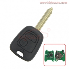 Remote key SX9 434Mhz for Peugeot 806 EXPERT Citroen Xsara2 buttton
