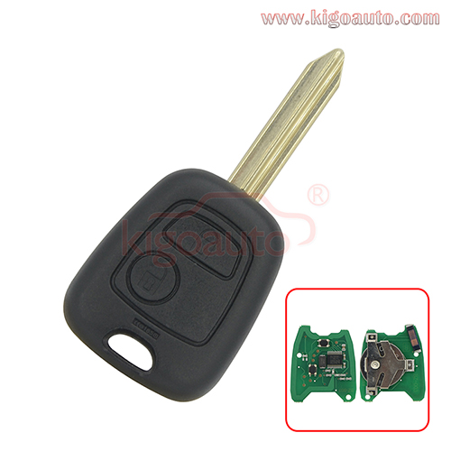Remote key SX9 blade 2 buttton 434Mhz ID46-PCF7961 chip for Peugeot 806 EXPERT PARTNER RANCH Citroen Xsara C5 Elysee PICASSO SAXO Xantia 2002-2008