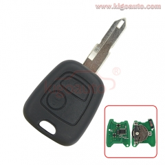 Remote key NE72 blade 2 button 434Mhz for Peugeot 106 205 206 306 405 Citroen C2 C3 C4 C5 C8