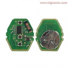 Remote key circuit board CAS system for BMW
