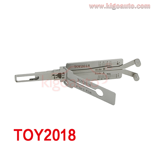 Lishi 2in1 Pick TOY2018