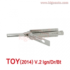Lishi 2in1 Pick TOY(2014) V.2 Ign/Dr/Bt
