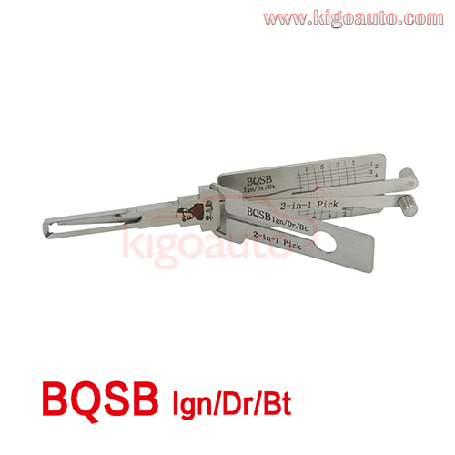 Lishi 2in1 Pick BQSB Ign/Dr/Bt