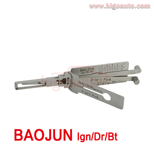 Lishi 2in1 Pick BAOJUN Ign/Dr/Bt