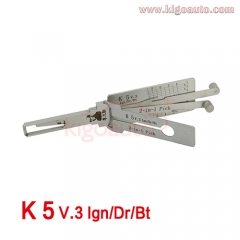 Lishi 2in1 Pick K5 V.3 Ign/Dr/Bt