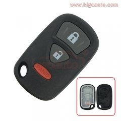 KBRTS005 Remote fob case shell cover OUCG8D-246S-A 3 button for Suzuki Aerio XL-7 Grand Vitara 2004 2005 2006 2007