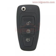 AM5T15K601AD 2036872 car remote flip key 3 button 434mhz FSK with 4D63 80 bit chip for Ford Mondeo Focus C-Max S-Max 2011 2012 2013 2014