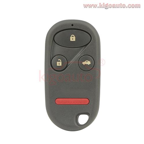Nhvwb1u523 Nhvwb1u521 434mhz For Honda Civic Ex Pilot 2003 2004 New Replacement Keyless Entry Car Remote Key Fob