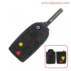FCC ID LQNP2T-APU Flip key case replacement shell for VOLVO C30 C70 S40 S60 S80 V50 V70 XC60 XC70 XC90 2003-2014 PN 8688799
