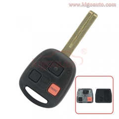 HYQ1512V Remote key 3 button TOY48 short 315Mhz for Lexus GX470