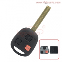 HYQ1512V Remote key 3 button TOY48 long 315Mhz for Lexus LX470
