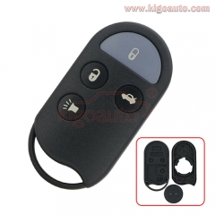A269ZUA078 remote fob case 3 button for Nissan Maxima  Infiniti I30 1995 1996 1997 1998 1999