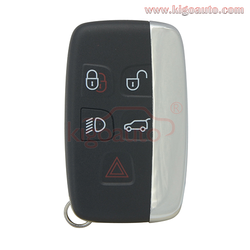 Smart key remote 433mhz 5 button ID49-Hitag Pro-PCF7953 for Land Rover Range Rover Sport Evoque Discovery 4