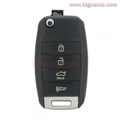 Flip key 4 button 434Mhz for Kia