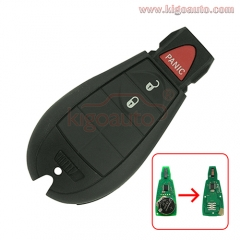 56046953AE GQ4-53T fobik key 3 button 434Mhz ID46-PCF7961 chip for Dodge RAM 2013 2014 2015