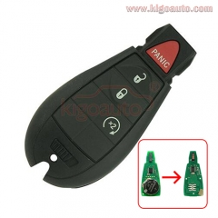 56046955AG GQ4-53T fobik key remote 4 button 434Mhz for Dodge RAM 2013 2014 2015