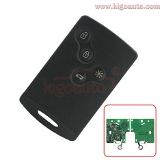 285975779R Remote Smart Card Key 4 button 433.9mhz PCF7952 for Renault Laguna III Megane III Scenic III