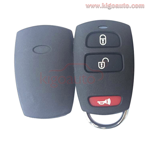 95430-4D032 SV3-VQTXNA13 Remote fob case 2 button with panic for Kia Sedona