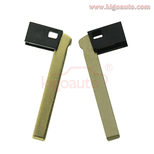 Emergency key blade for BMW i3 i8