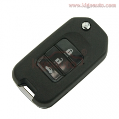Refit remote key shell 3 button for Honda Accord