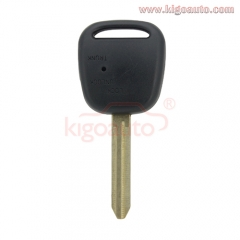 Remote key shell toy43 blade for Toyota 1 button on side
