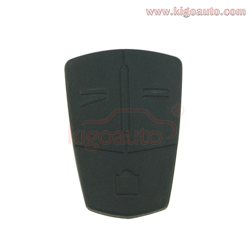 Remote button pad for Opel flip remote key 3 button