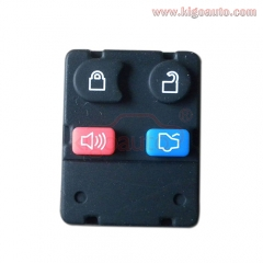Remote button rubber pad for Ford remote fob 4 button