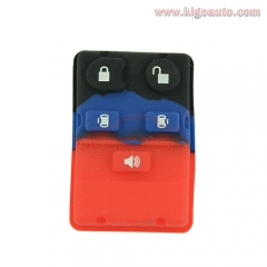 Remote button rubber pad for Ford remote fob 5 button