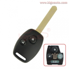 OUCG8D-380H-A Remote key 2 button 434Mhz for Honda Accord