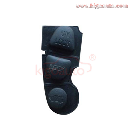 Remote button pad for GM Holden Chevrolet remote key 3 button