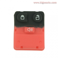 Remote button rubber pad for Ford remote fob 3 button