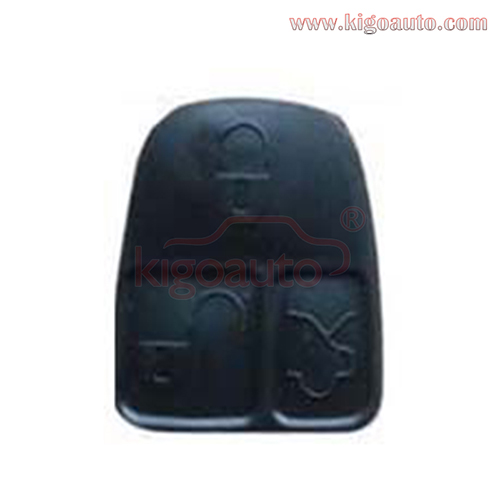 Remote button pad for Mercedes flip remote key 3 button