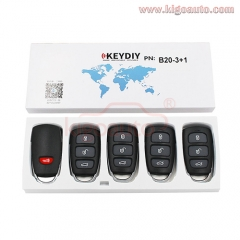 B20-4 Series KEYDIY Multi-functional Remote Control