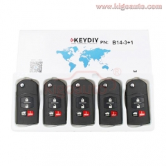 B14-3+1 Series KEYDIY Multi-functional Remote Control