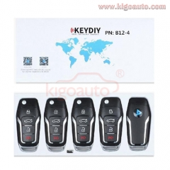 B12-3+1 Series KEYDIY Multi-functional Remote Control