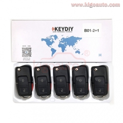 B01-2+1 Series KEYDIY Multi-functional Remote Control