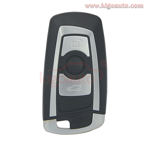 YGOHUF5662 smart key 3 button 315Mhz 434Mhz 868Mhz HITAG-PRO ID49-PCF7953P chip for BMW F series 2009 - 2012 4008C-HUF5662 (with Foot Kick Sensor)